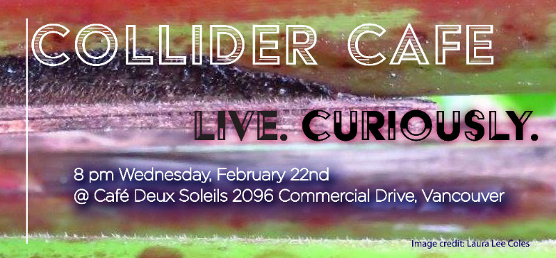 Collider Cafe: Live. Curiously.