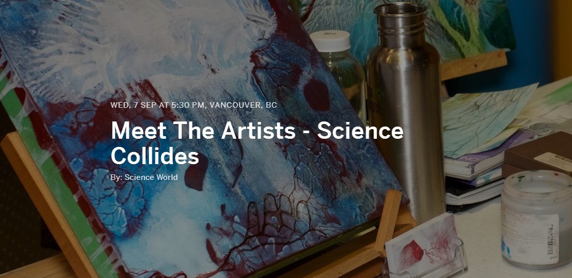 Meet the Artists – Science Collides