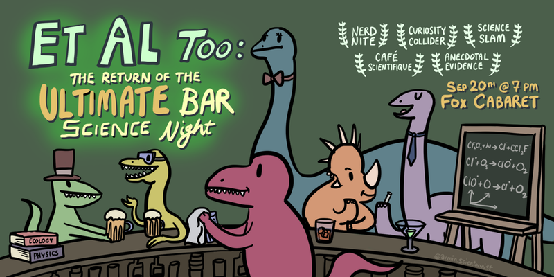 Et Al Too: The Ultimate Bar Science Night