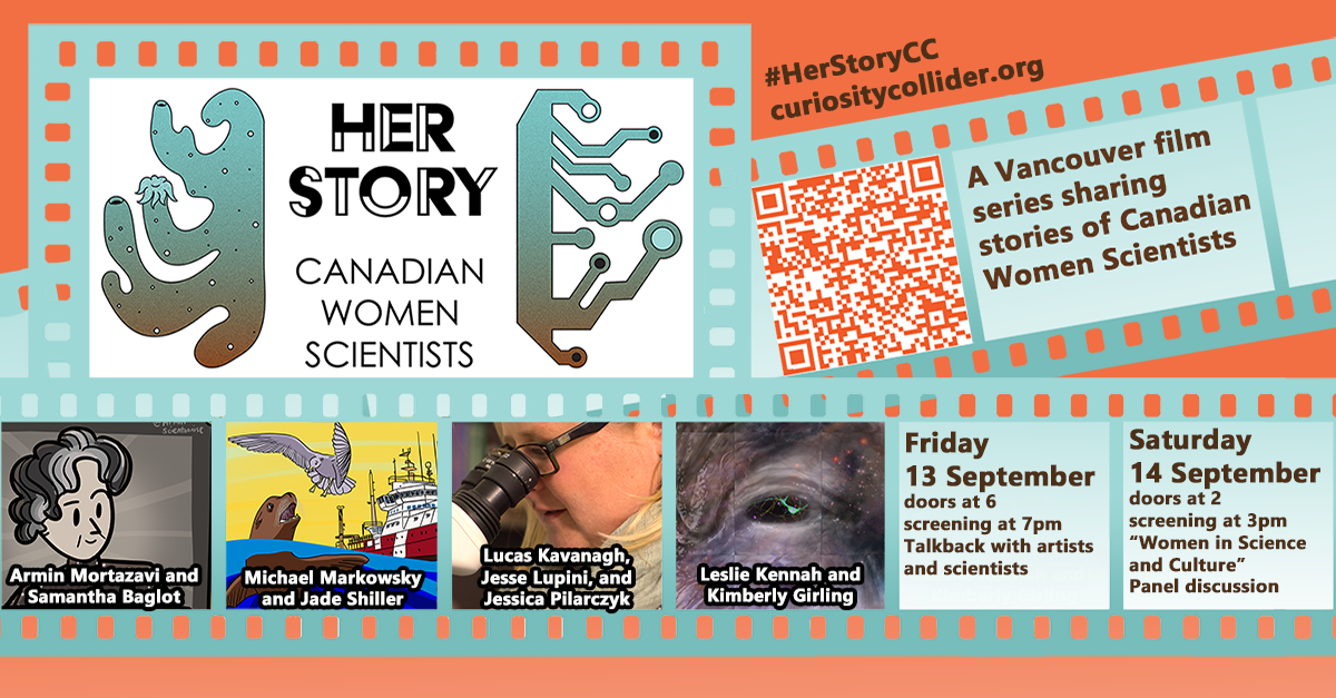 "Short Film Series ""Her Story"" Showcases Canadian Women Scientists and Local Filmmakers"